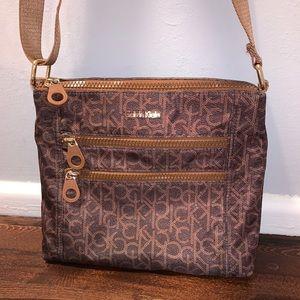 USED ONCE! Calvin Klein Crossbody Messenger Bag